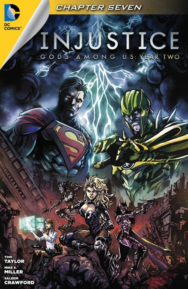 Injustice: Gods Among Us: Year Two (2014-) #7