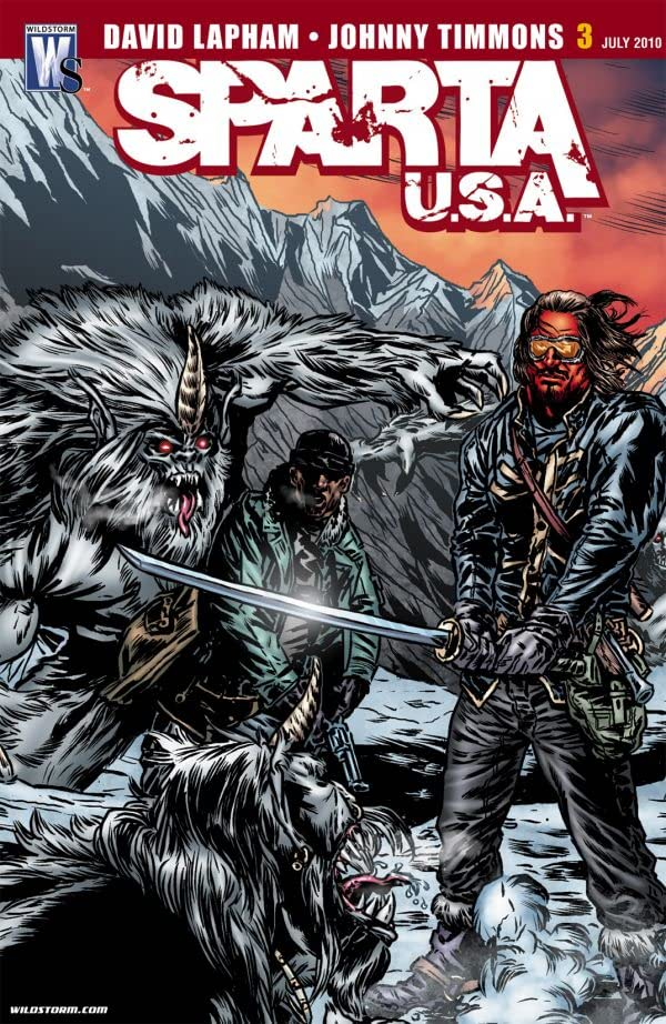 Sparta: USA #3 (of 6)