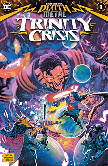 Dark Nights: Death Metal Trinity Crisis (2020-) No.1