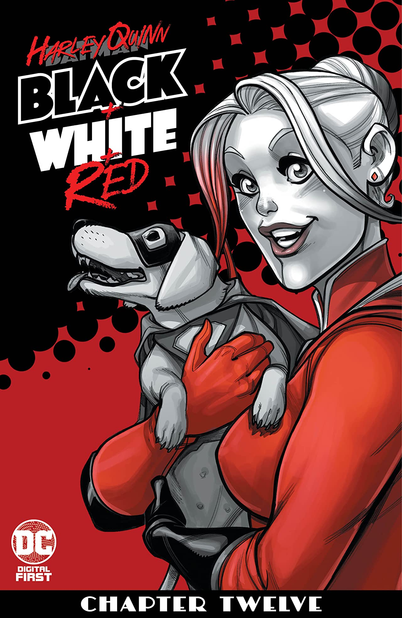Harley Quinn Black + White + Red (2020-) No.12