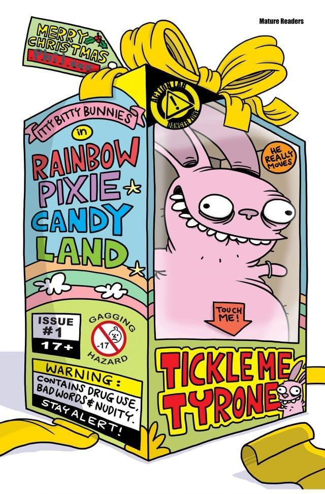 Itty Bitty Bunnies in Rainbow Pixie Candyland #3