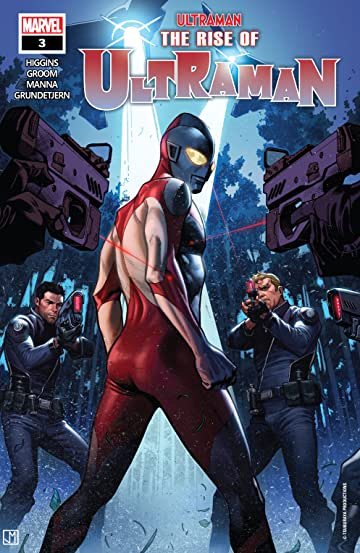 The Rise Of Ultraman (2020-) #3 (of 5)