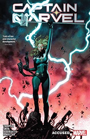 Captain Marvel Tome 4: Accused