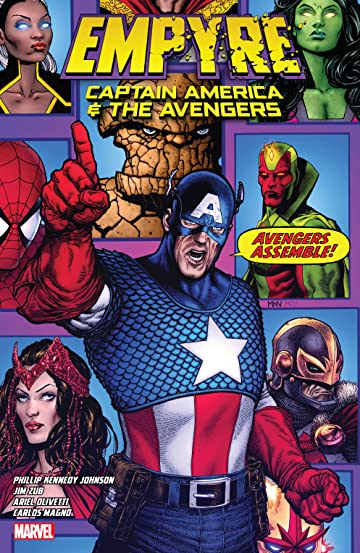 Empyre: Captain America & The Avengers