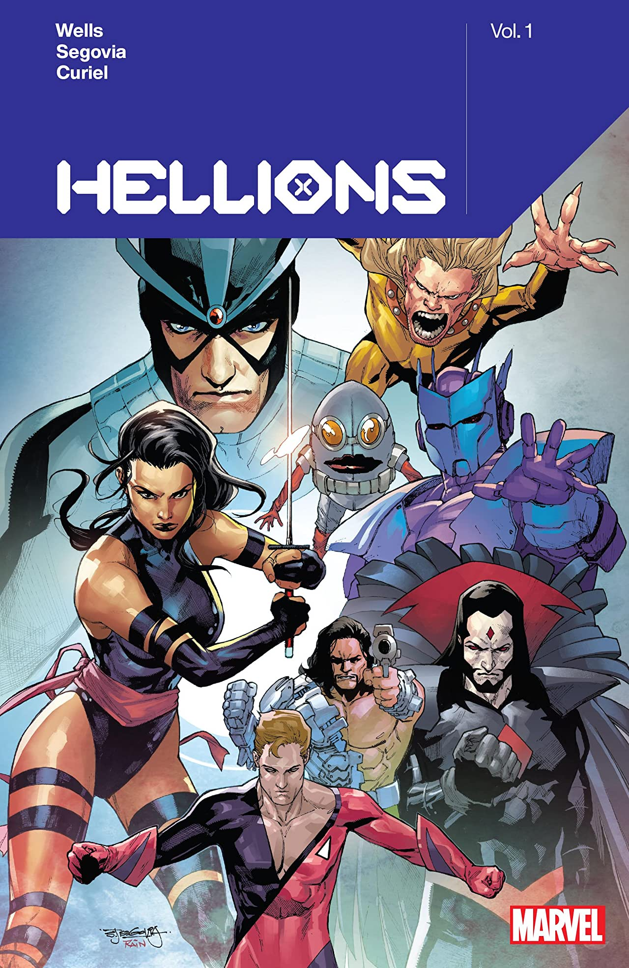 Hellions by Zeb Wells Vol. 1