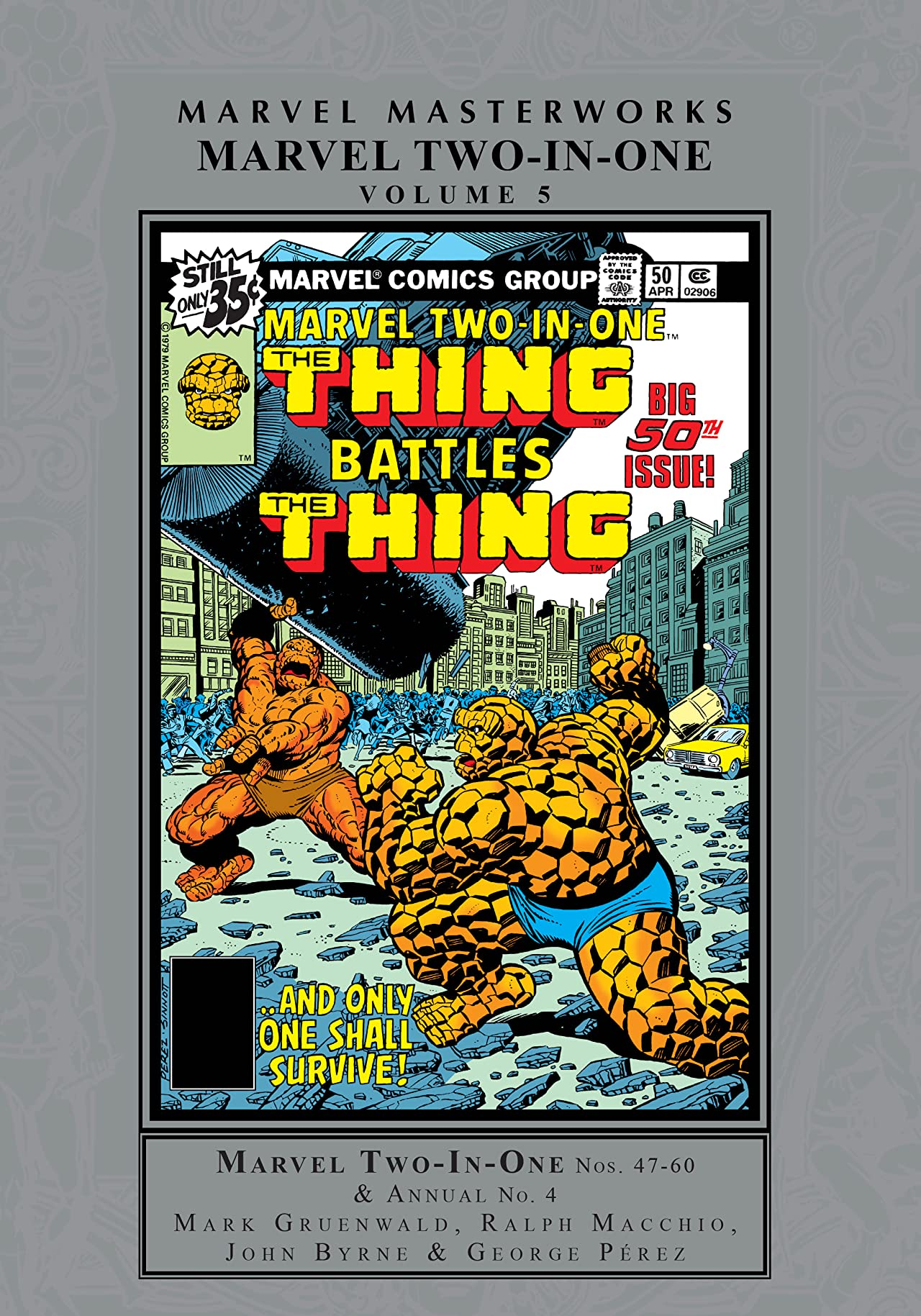 Marvel Two-In-One Masterworks Tome 5