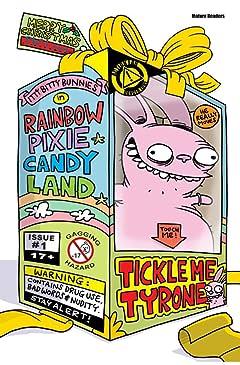 Itty Bitty Bunnies in Rainbow Pixie Candyland #4