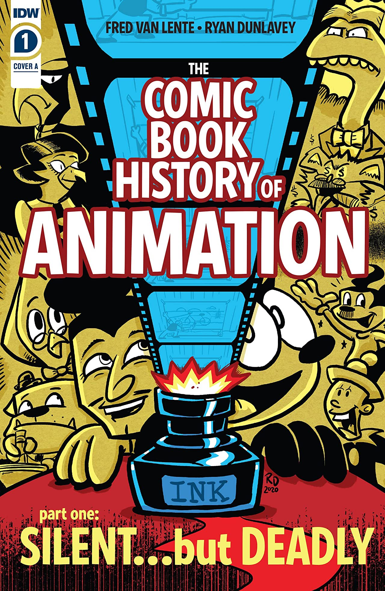 Comic Book History of Animation #1 (of 5)