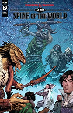 Dungeons & Dragons: At the Spine of the World #2 (of 4)