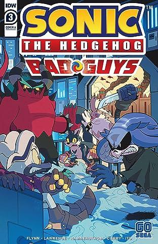 Sonic: Bad Guys #3 (of 4)