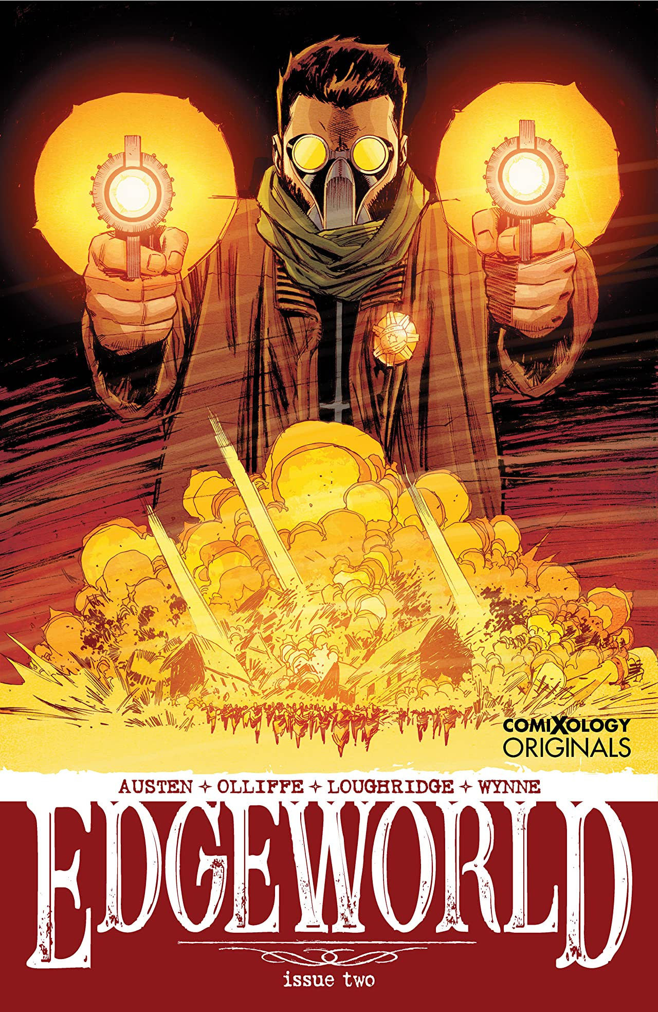 Edgeworld No.2 (sur 5): Sand (Part 2) (comiXology Originals)