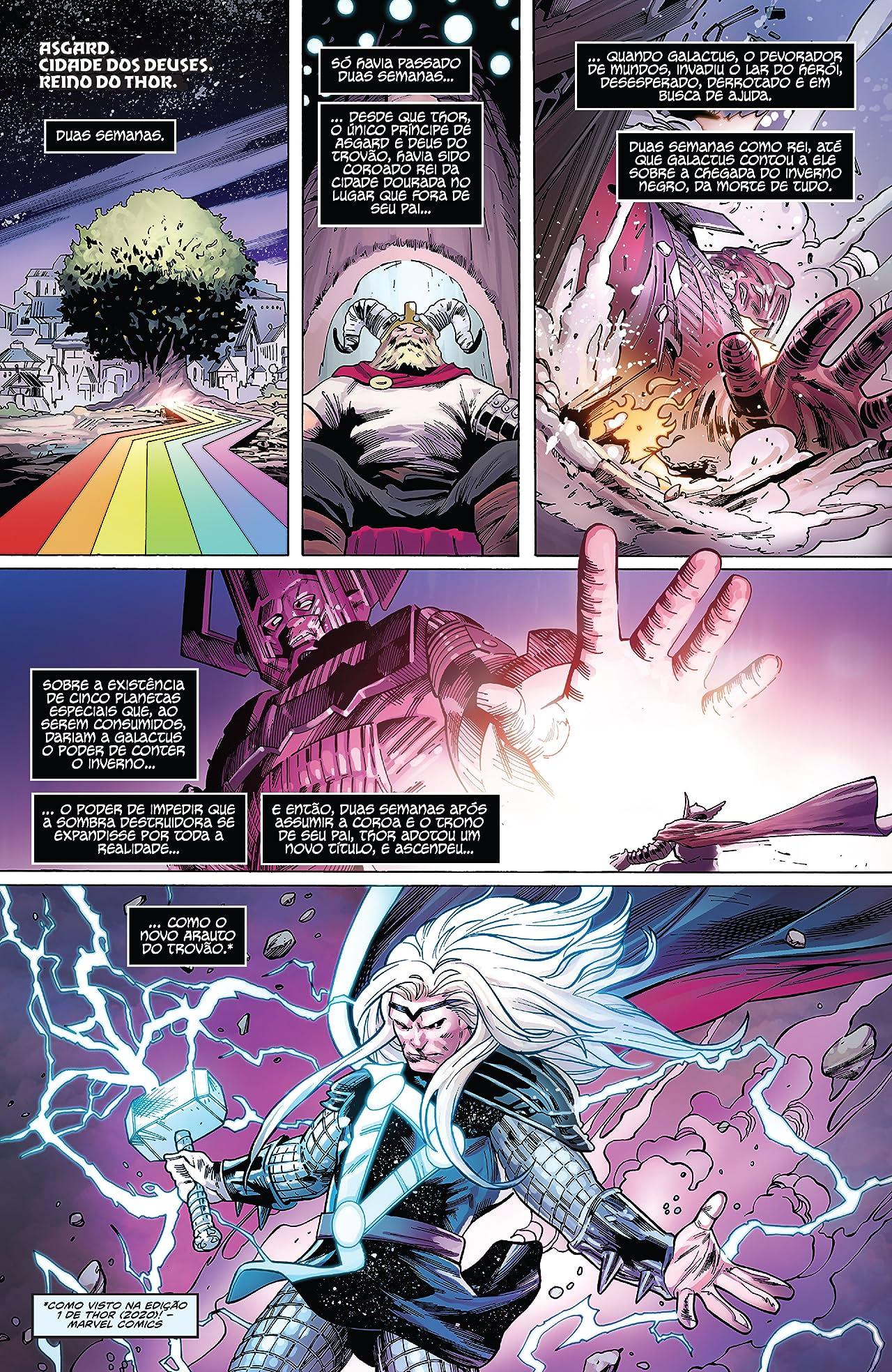 Fortnite x Marvel - Nexus War: Thor (Brazilian Portuguese) #1