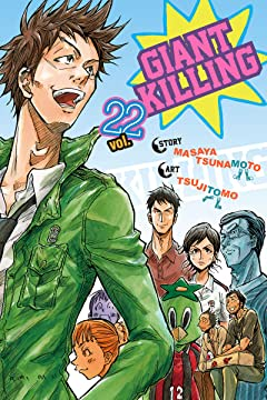Giant Killing Vol. 22