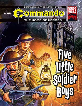 Commando #5371: Five Little Soldier Boys