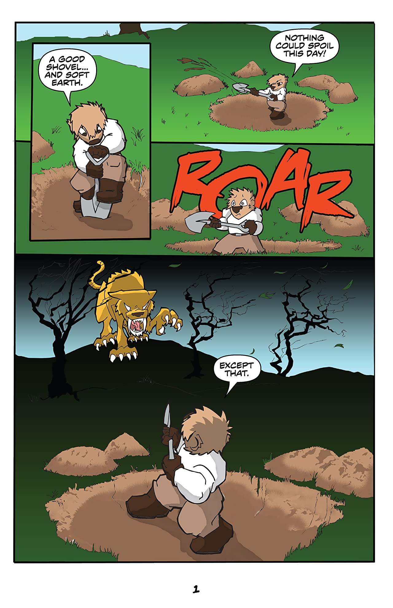Wombat Rue #2: The Benefit of the Scout