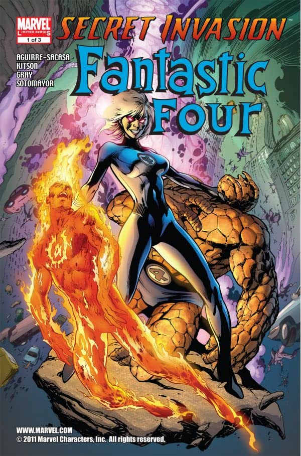 Secret Invasion: Fantastic Four #1 (of 3)