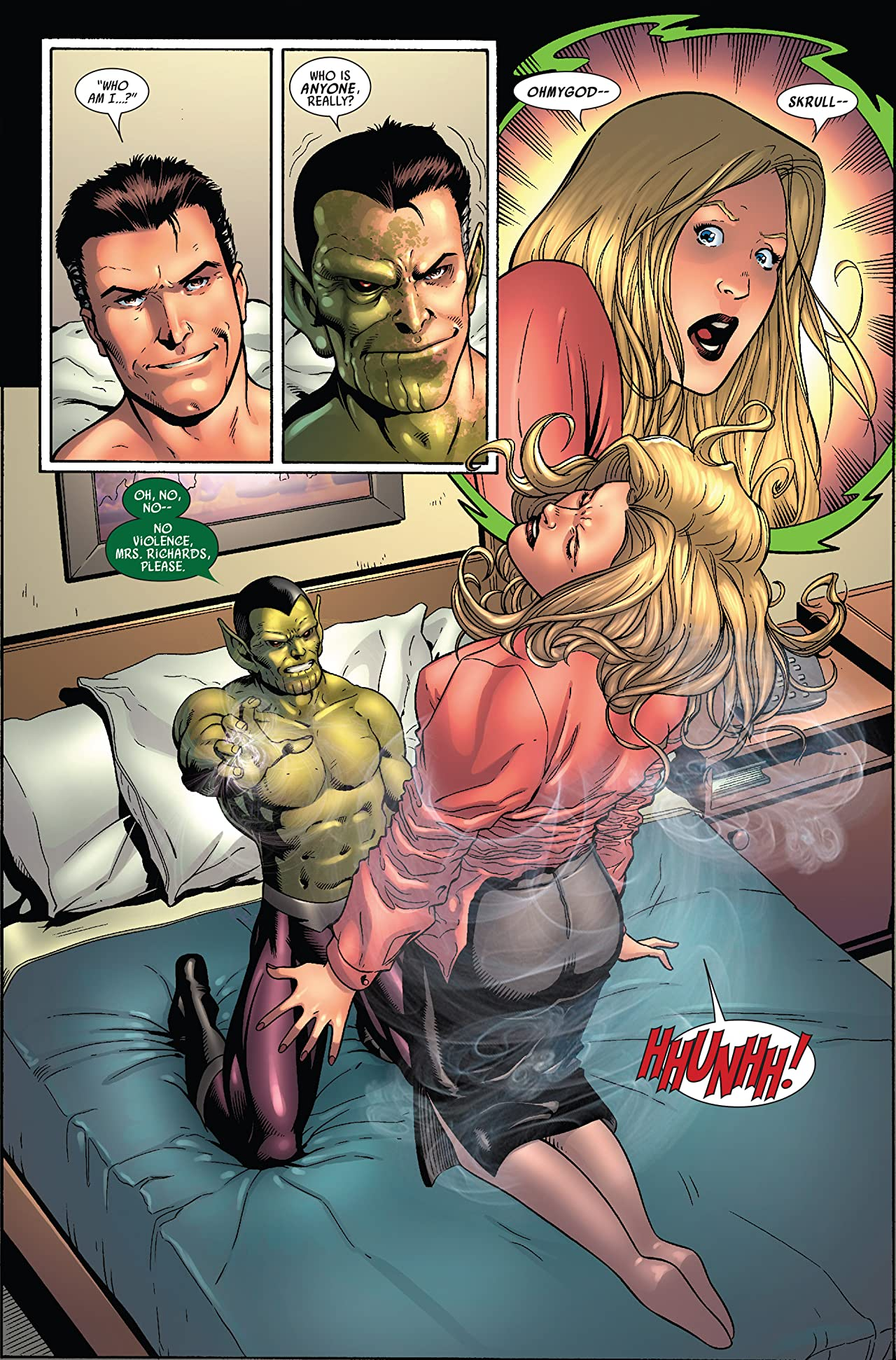 Secret Invasion: Fantastic Four #1 (of 3)