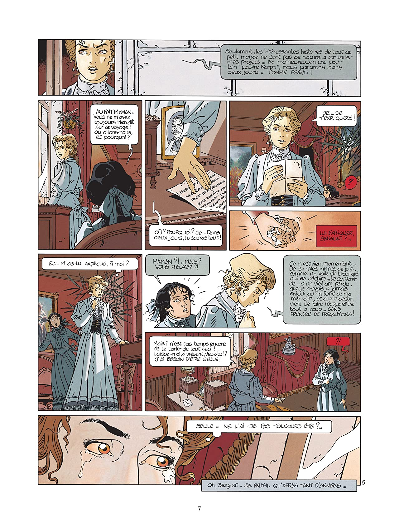 Sophaletta Vol. 1: Des larmes de sang