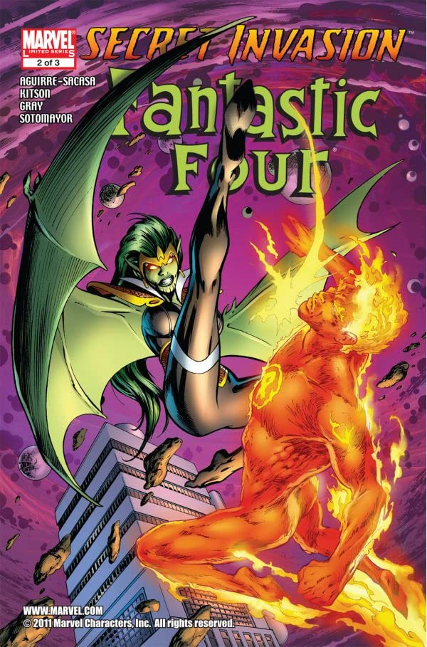 Secret Invasion: Fantastic Four #2 (of 3)
