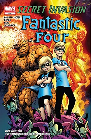 Secret Invasion: Fantastic Four No.3 (sur 3)