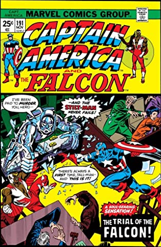 Captain America (1968-1996) #191