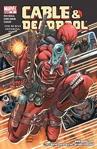 Cable & Deadpool No.9