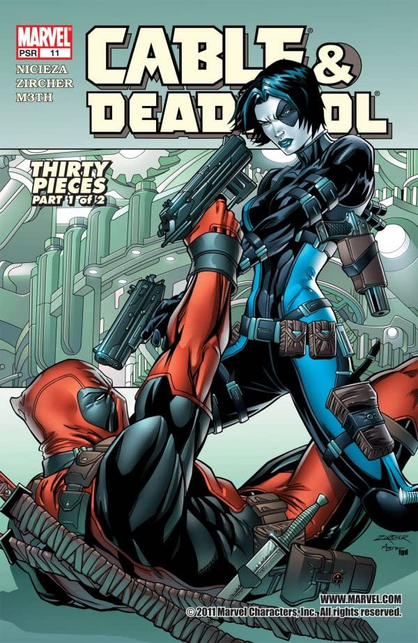 Cable & Deadpool No.11