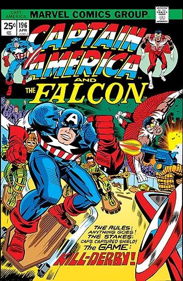 Captain America (1968-1996) #196