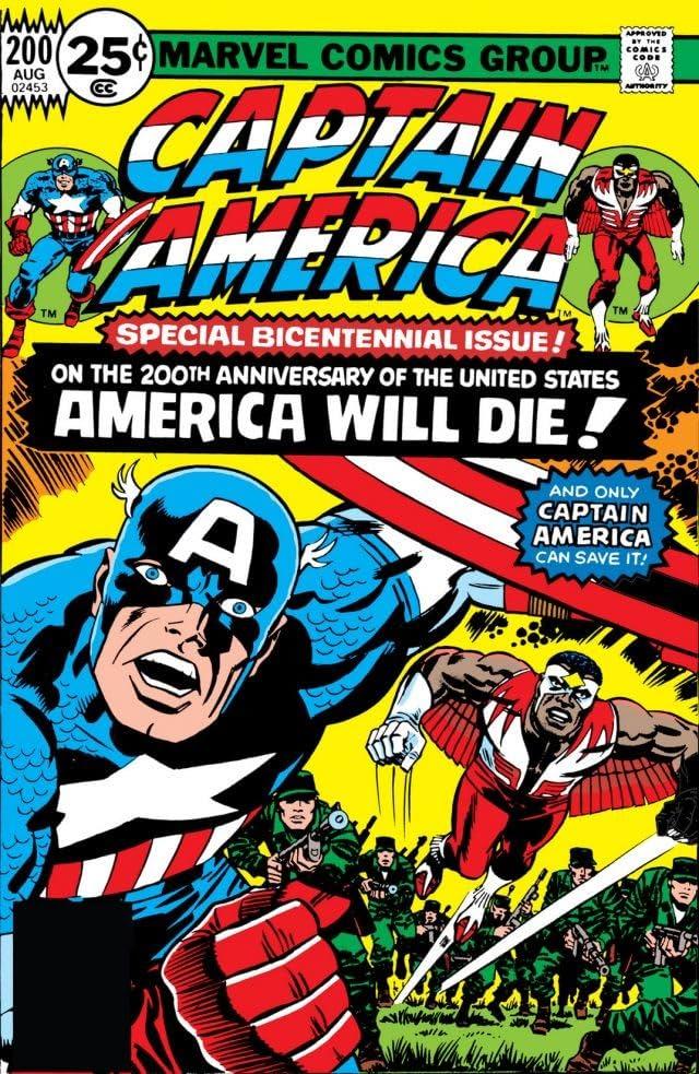 Captain America (1968-1996) #200