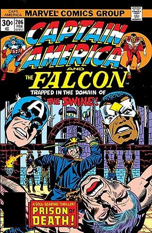 Captain America (1968-1996) #206