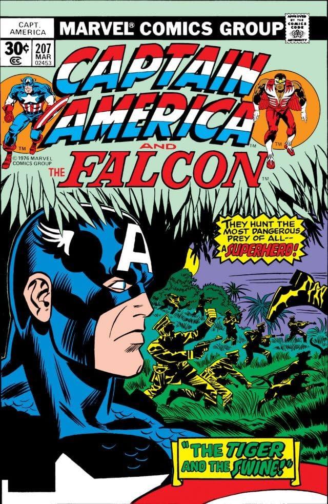 Captain America (1968-1996) #207
