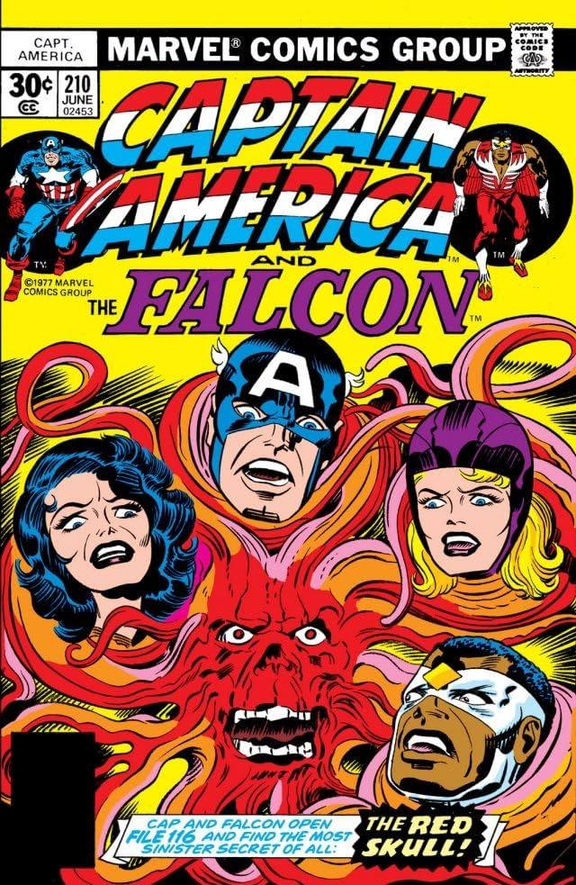 Captain America (1968-1996) #210