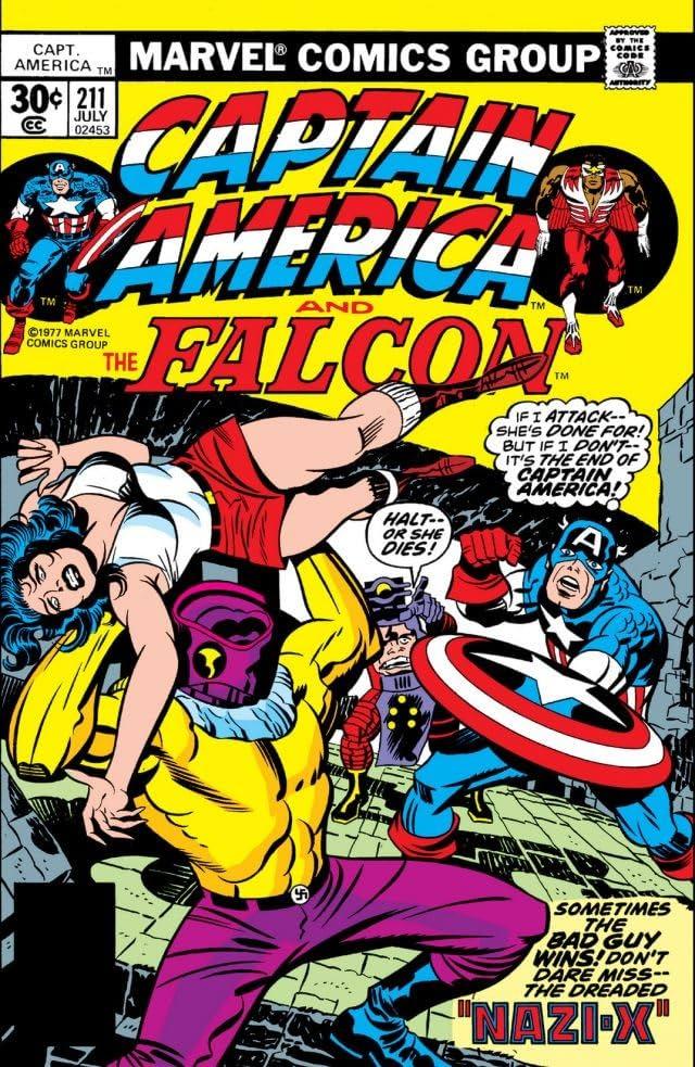 Captain America (1968-1996) #211