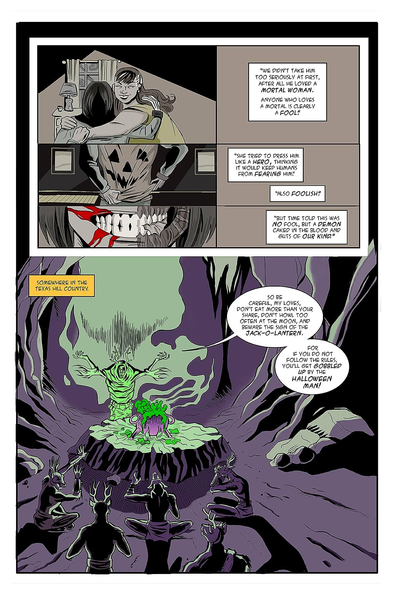 Halloween Man #25