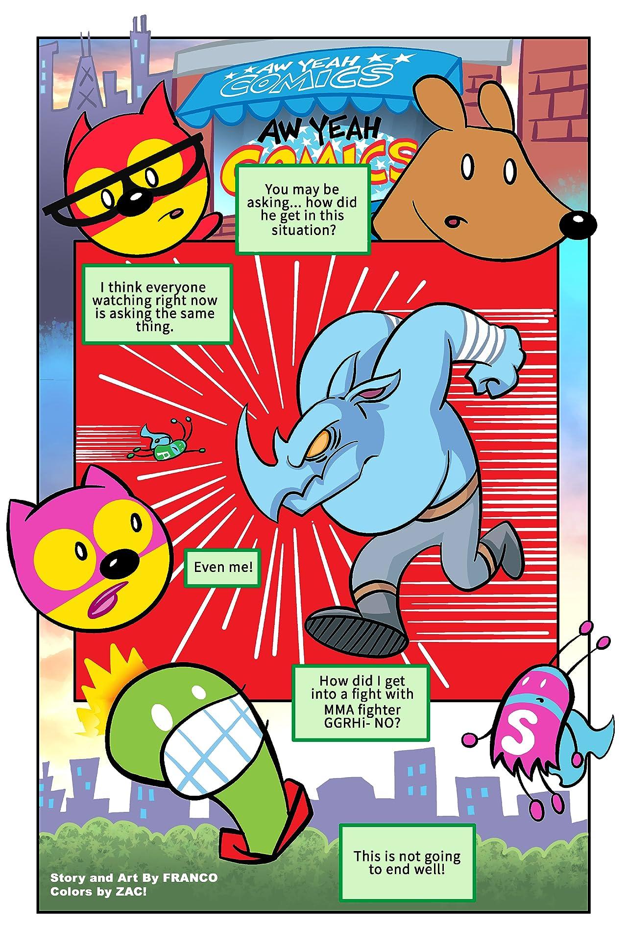 Aw Yeah Comics! #14