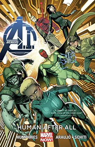 Avengers A.I. Tome 1: Human After All