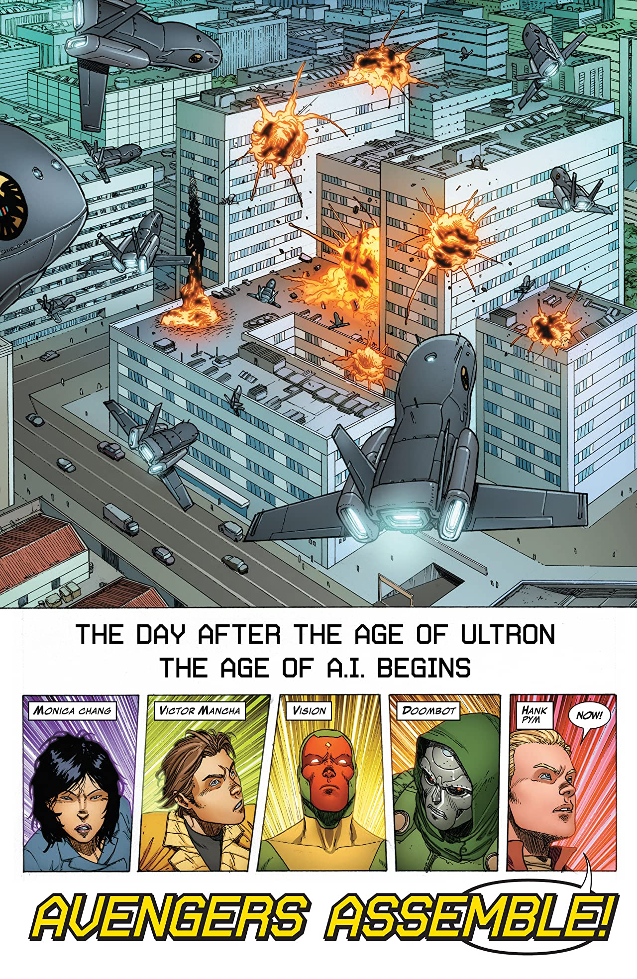 Avengers A.I. Vol. 1: Human After All