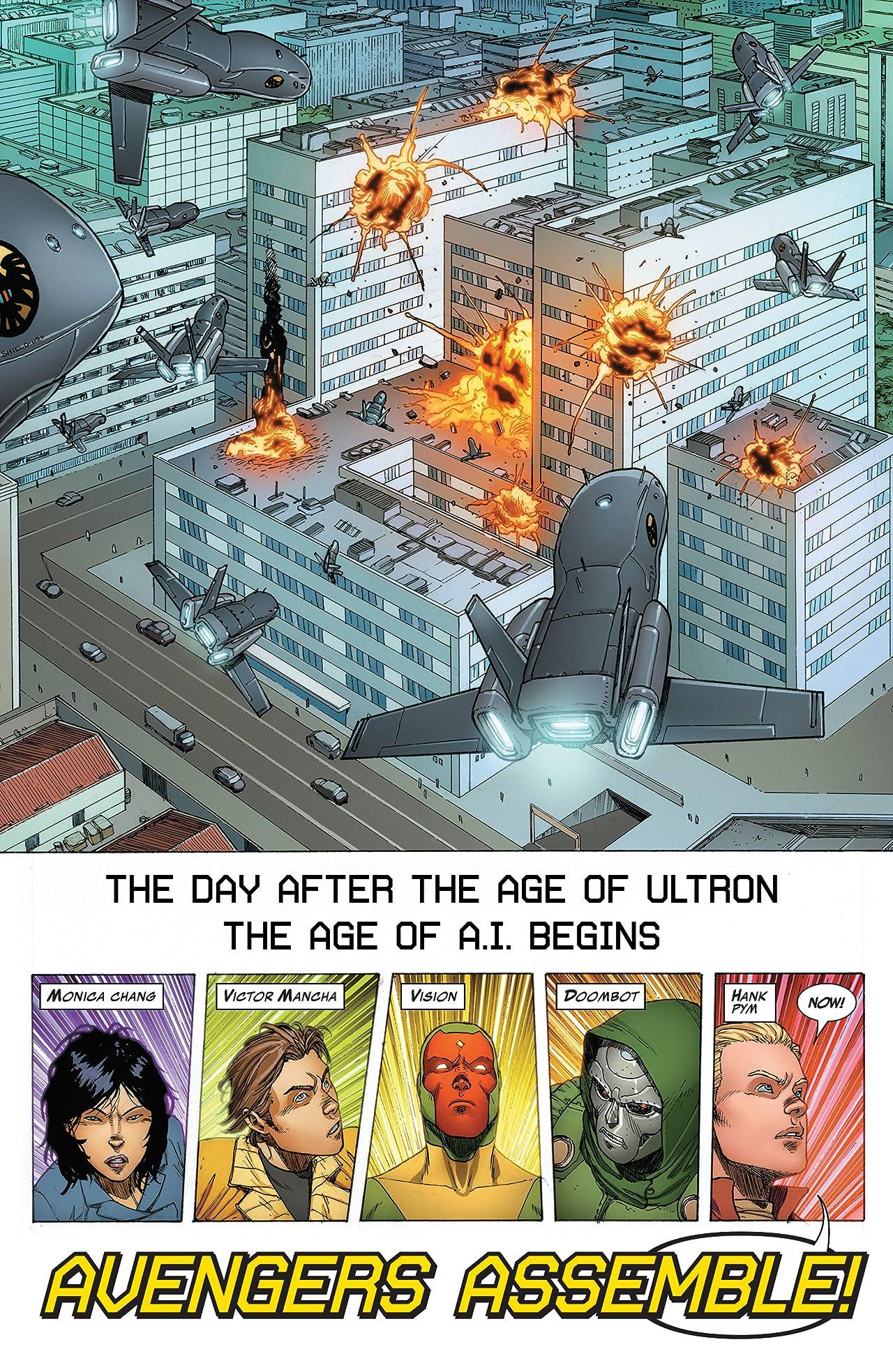 Avengers A.I. Vol. 1: Human After All