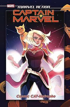 Marvel Action Captain Marvel Vol. 1: Cat-Tastrophe