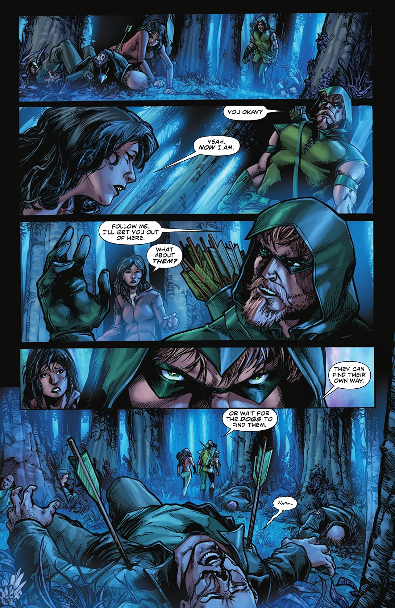 Green Arrow (2010-2011) Tome 1: Into the Woods