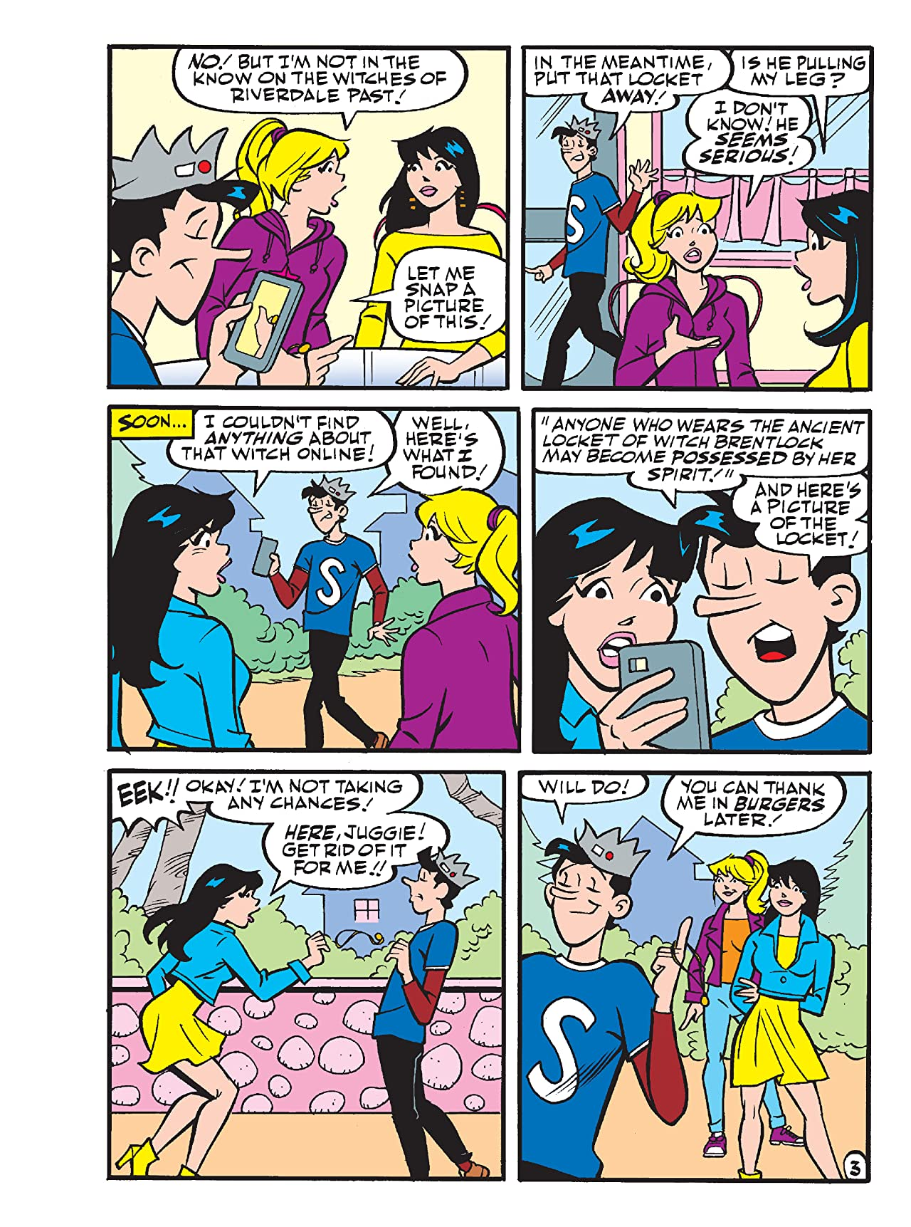 Betty & Veronica Best Friends Digest #285