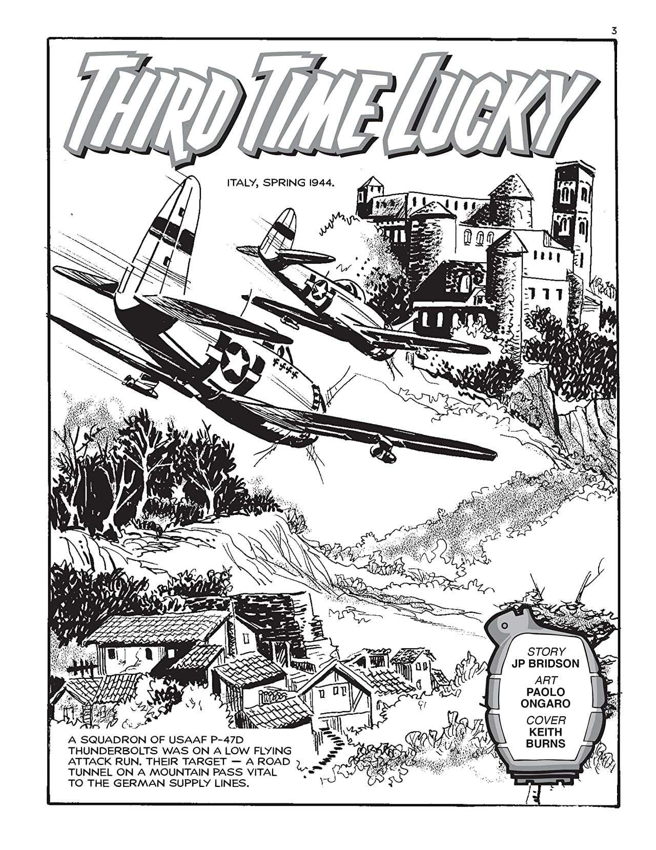 Commando No.5377: Third Time Lucky