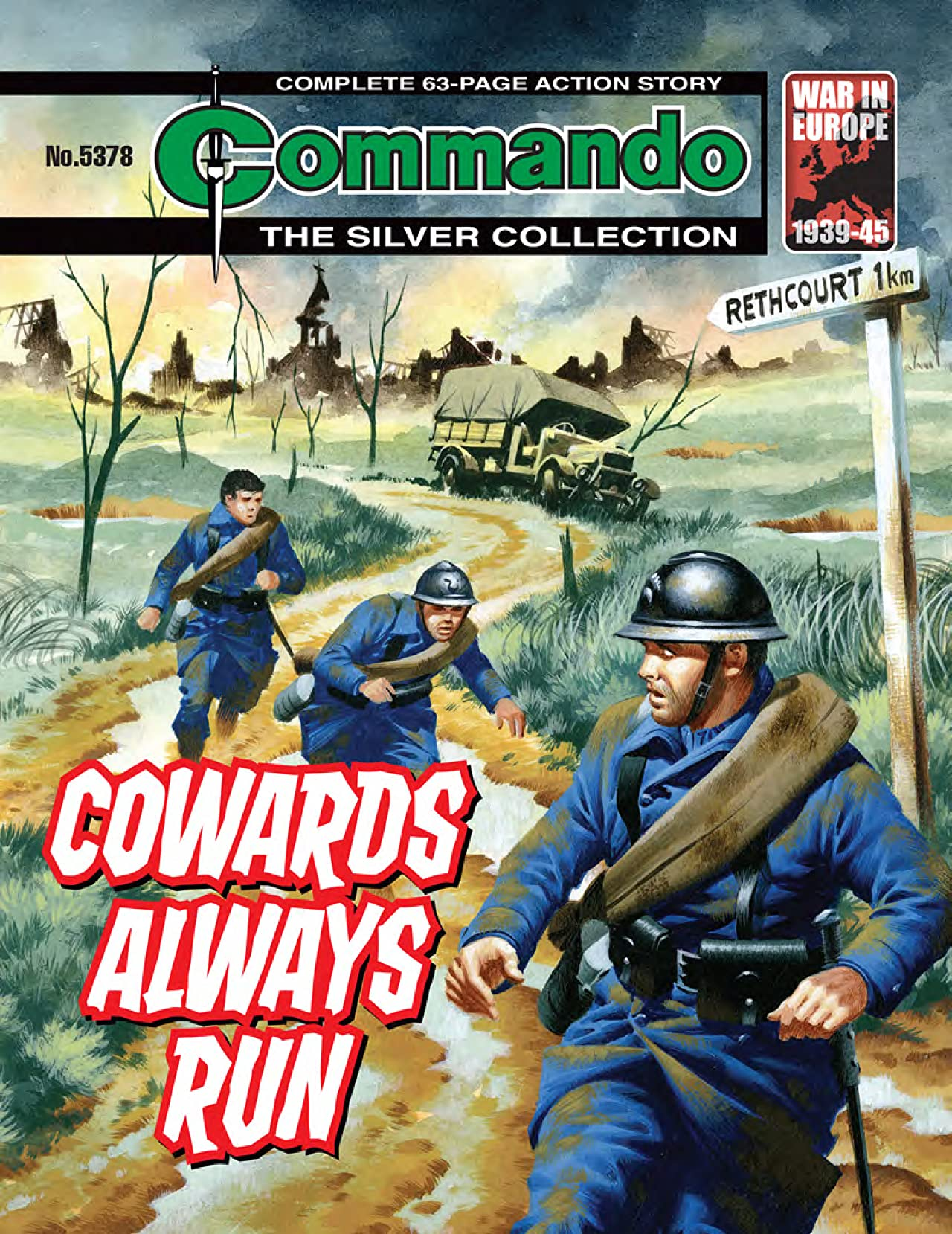 Commando No.5378: Cowards Always Run