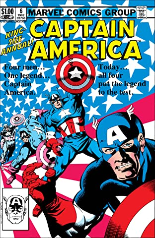 Captain America (1968-1996) Annual #6