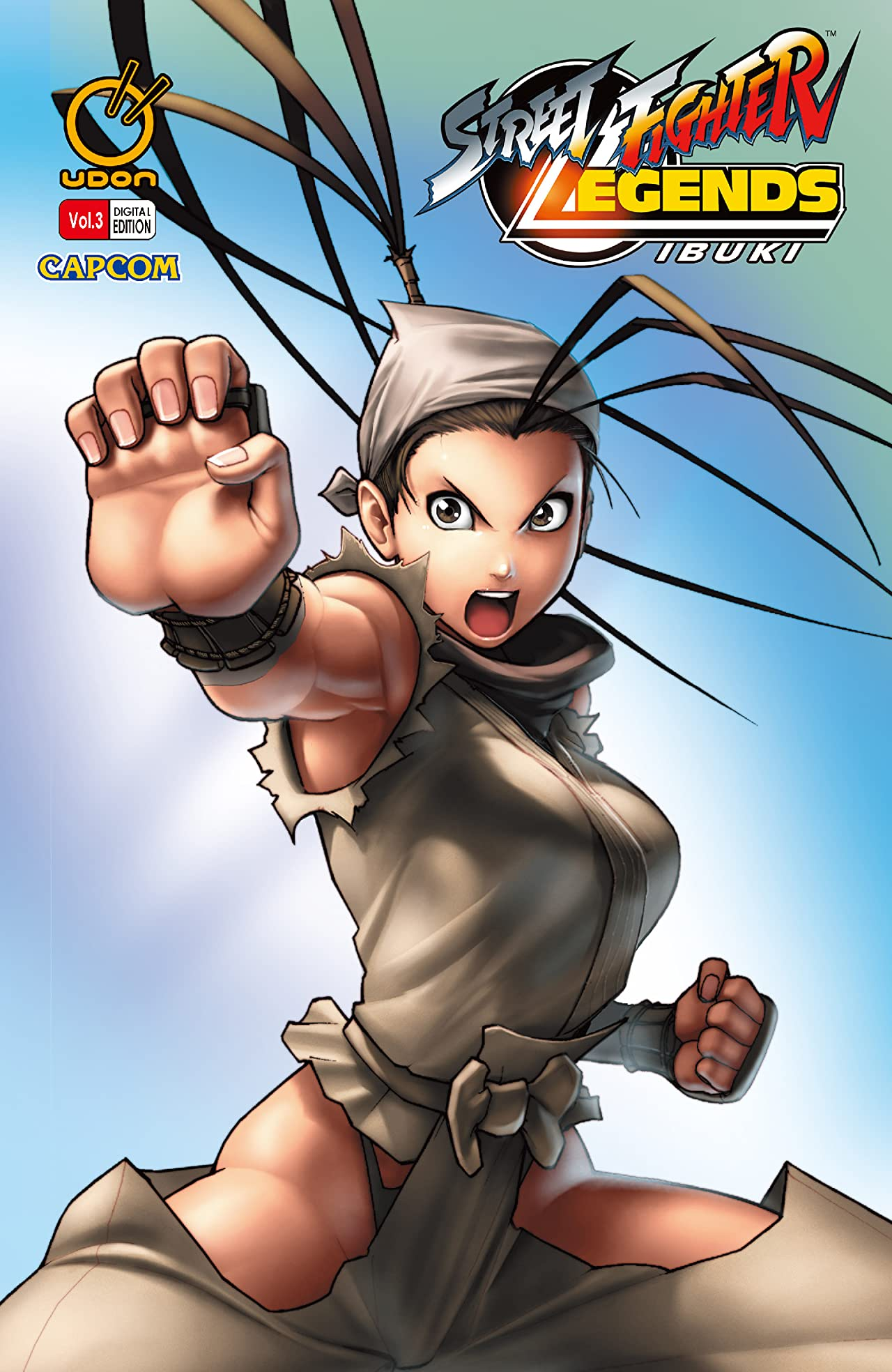 Street Fighter Legends: Ibuki Vol. 3