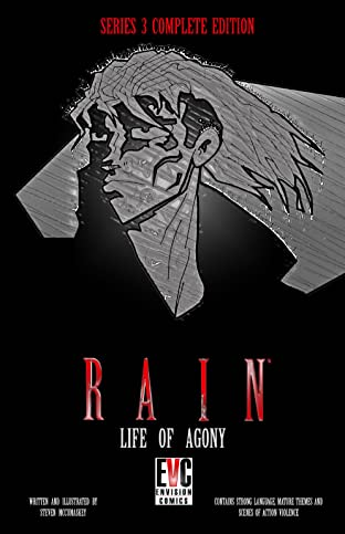 RAIN: LIFE OF AGONY SERIES 3 COMPLETE EDITION Vol. 3