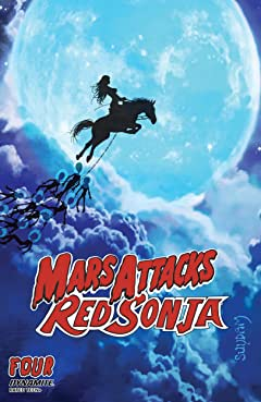 Mars Attacks Red Sonja #4