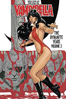 The Art of Vampirella: The Dynamite Years Vol. 2