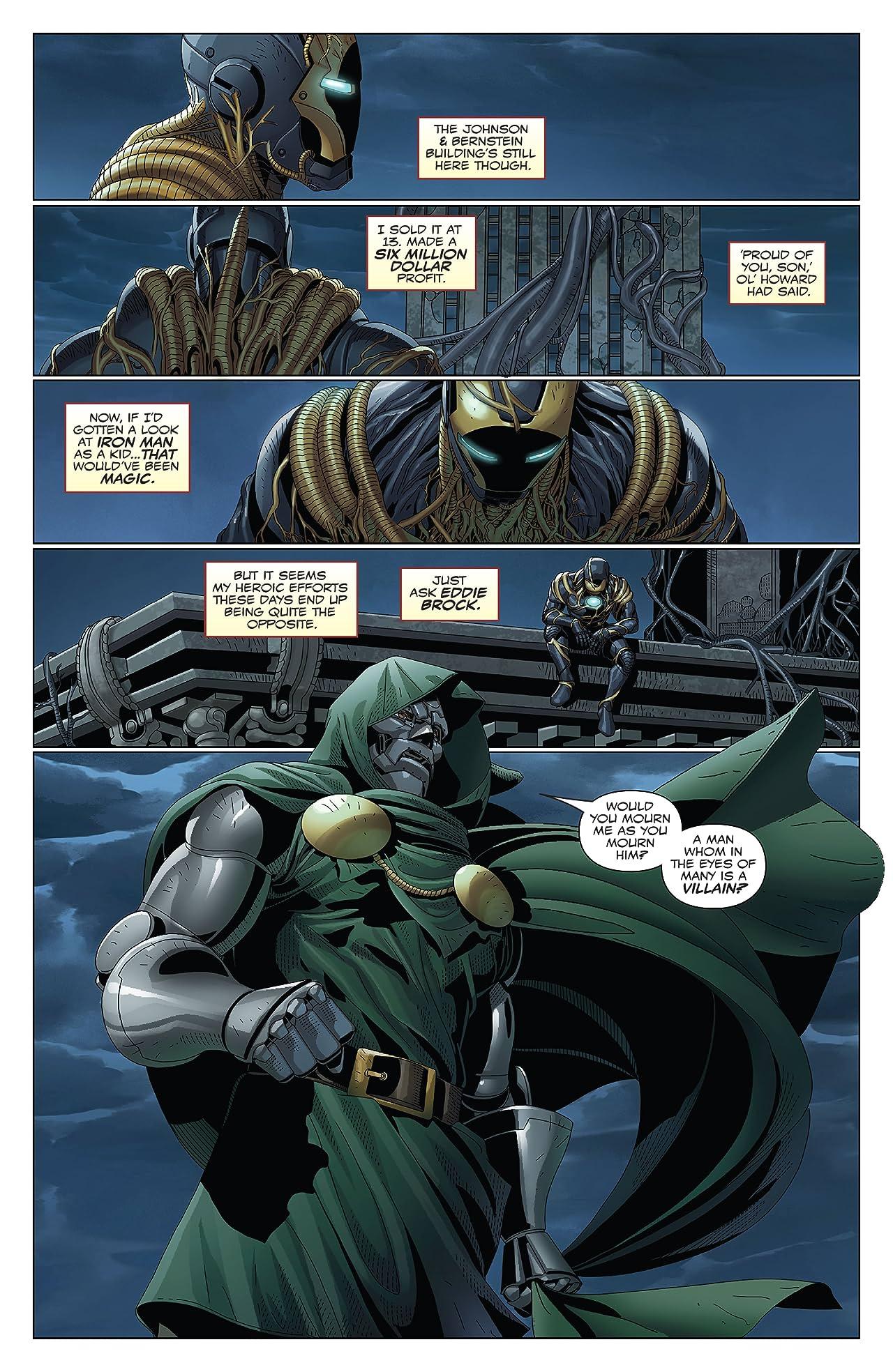 King In Black: Iron Man/Doom (2020) #1