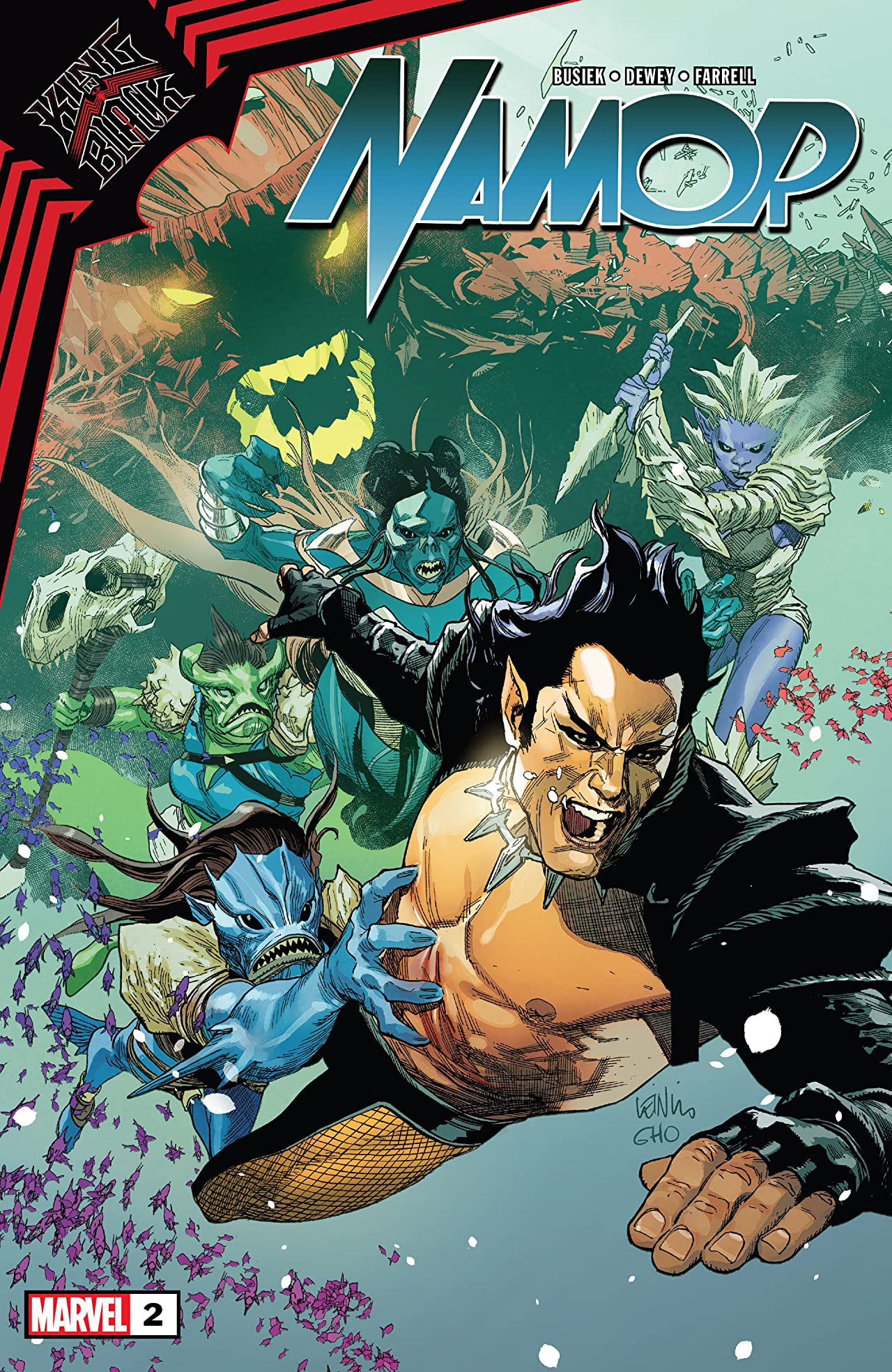 King In Black: Namor (2020-) #2 (of 5)